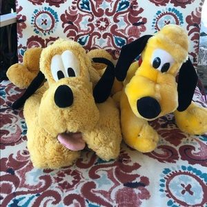 💛Disney Pluto Plush Set💛